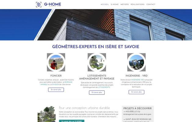 Création de site web G-HOME