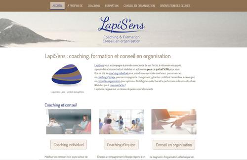 Site internet Lapisens