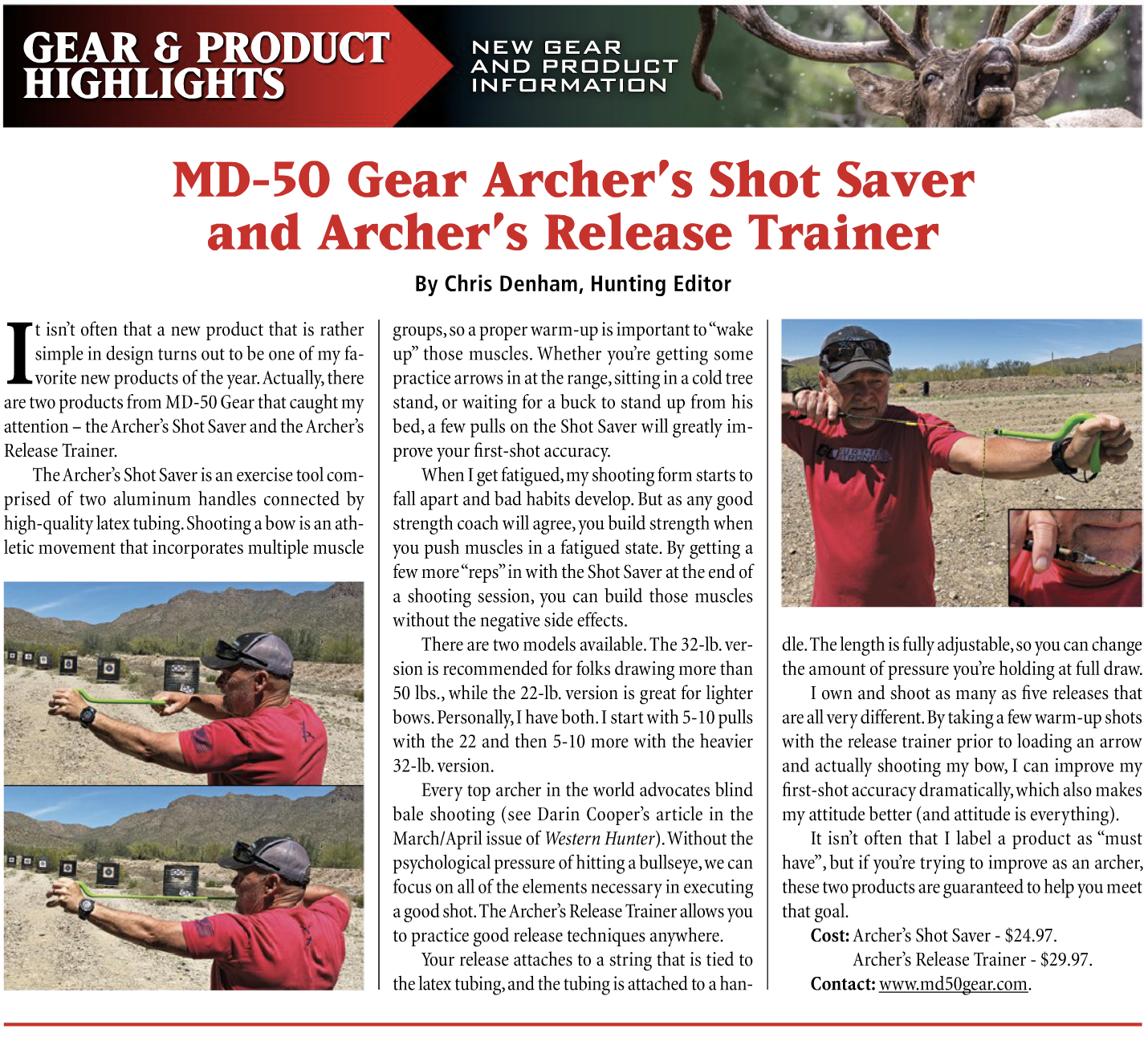 Check out Western Hunter Magazine May/June issue!