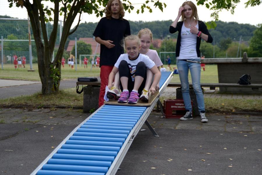 Für die Kids stand das Spielmobil des Kreisjugendrings mit zahlreichen Spielmöglichkeiten zur Verfügung :)