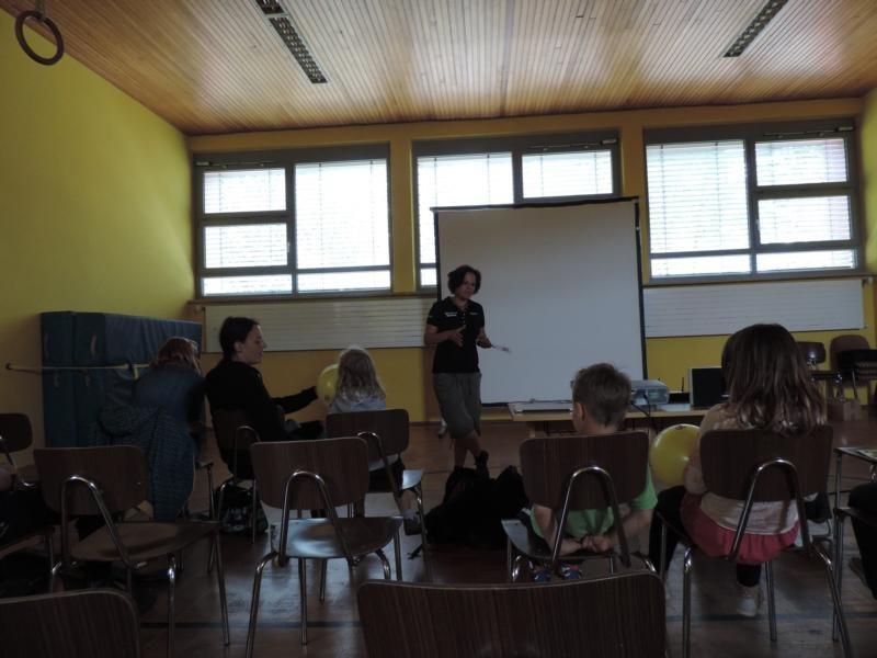 und auch der neue Verein Ummerstadt ist BUNT e.V. hat den Gästen erzählt, wieso diese sich gegründet haben