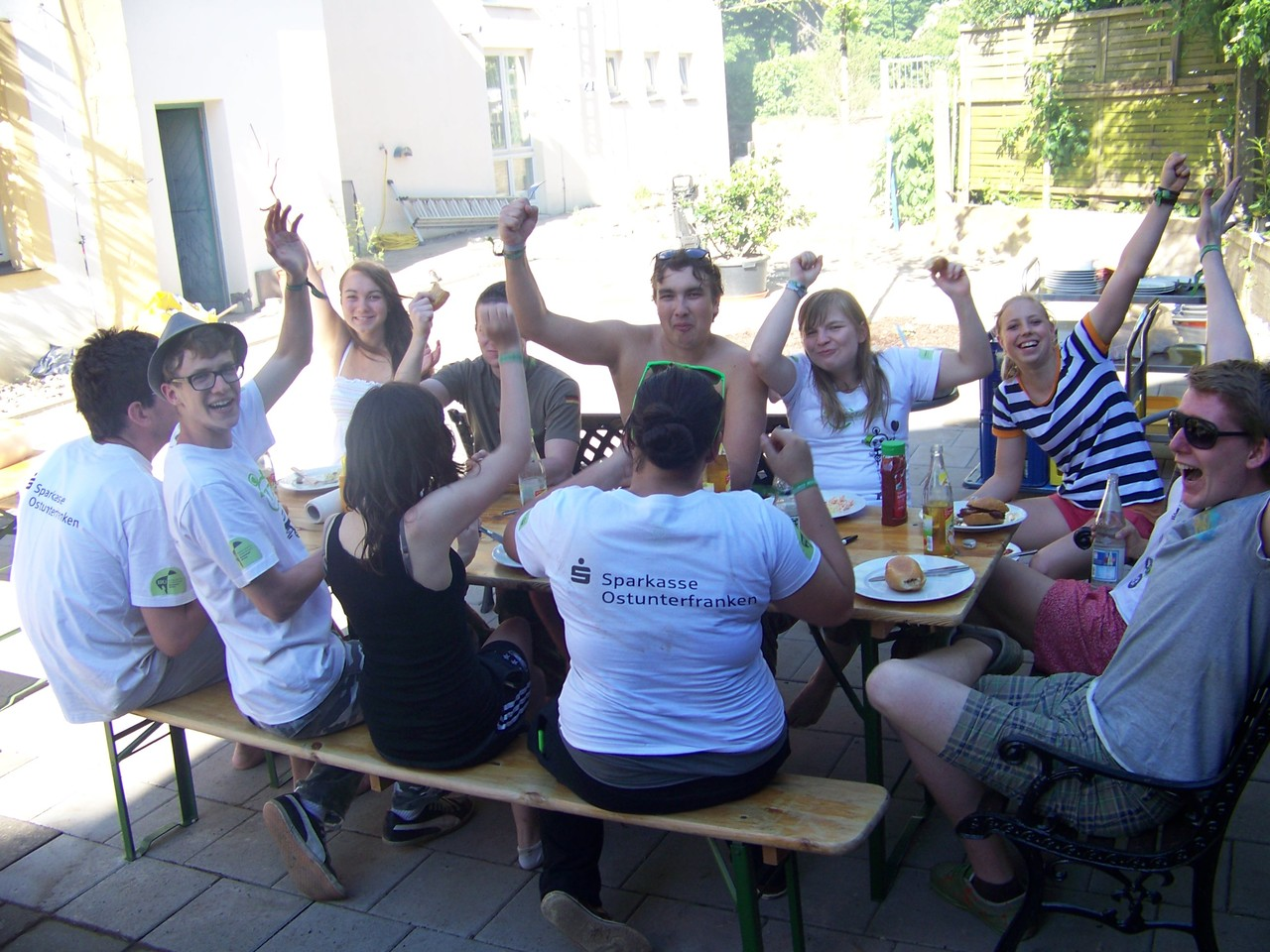 Die verdiente Grillparty!