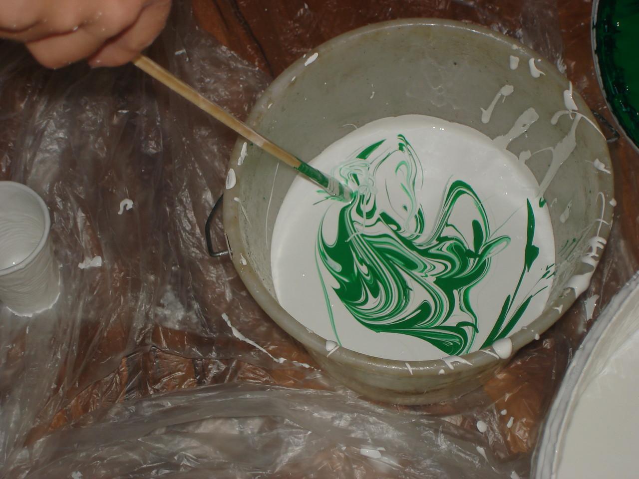 Wie viel grün brauchen wir, um den richtigen Farbton zu erhalten?!