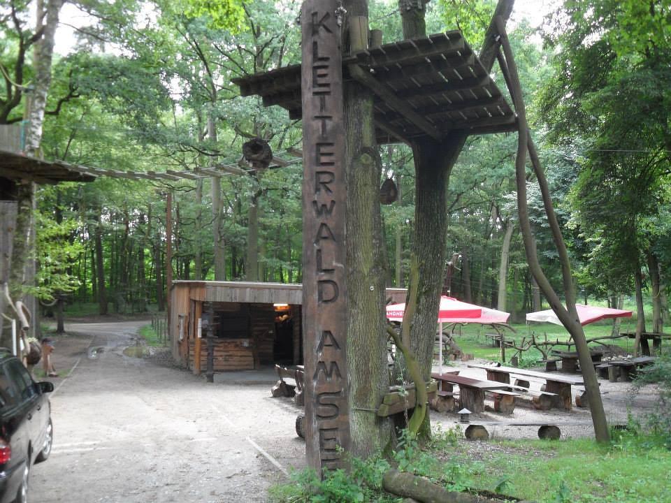 Ja, so heißt er - Deutschlands größter Kletterwald!
