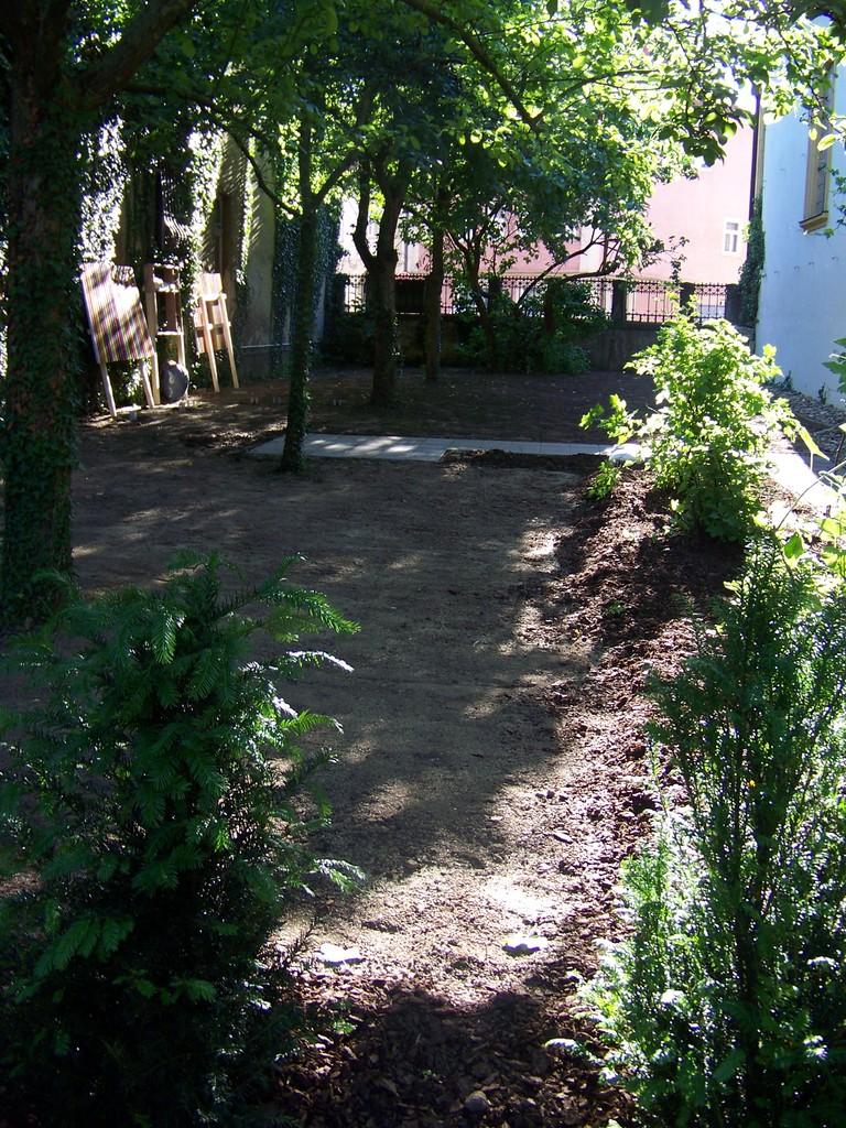 Impressionen des fertigen Gartens