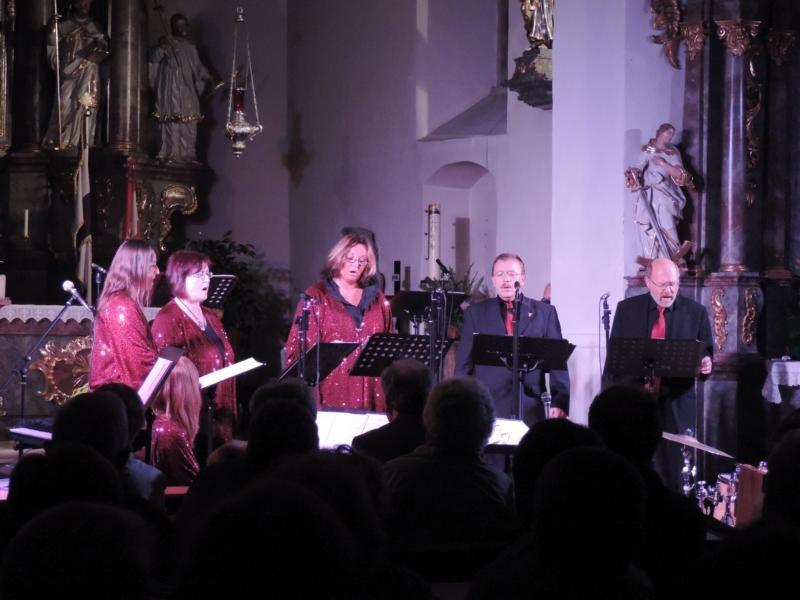 """Auch als Quintett war """"Praising People"""" purer Genuss!"""