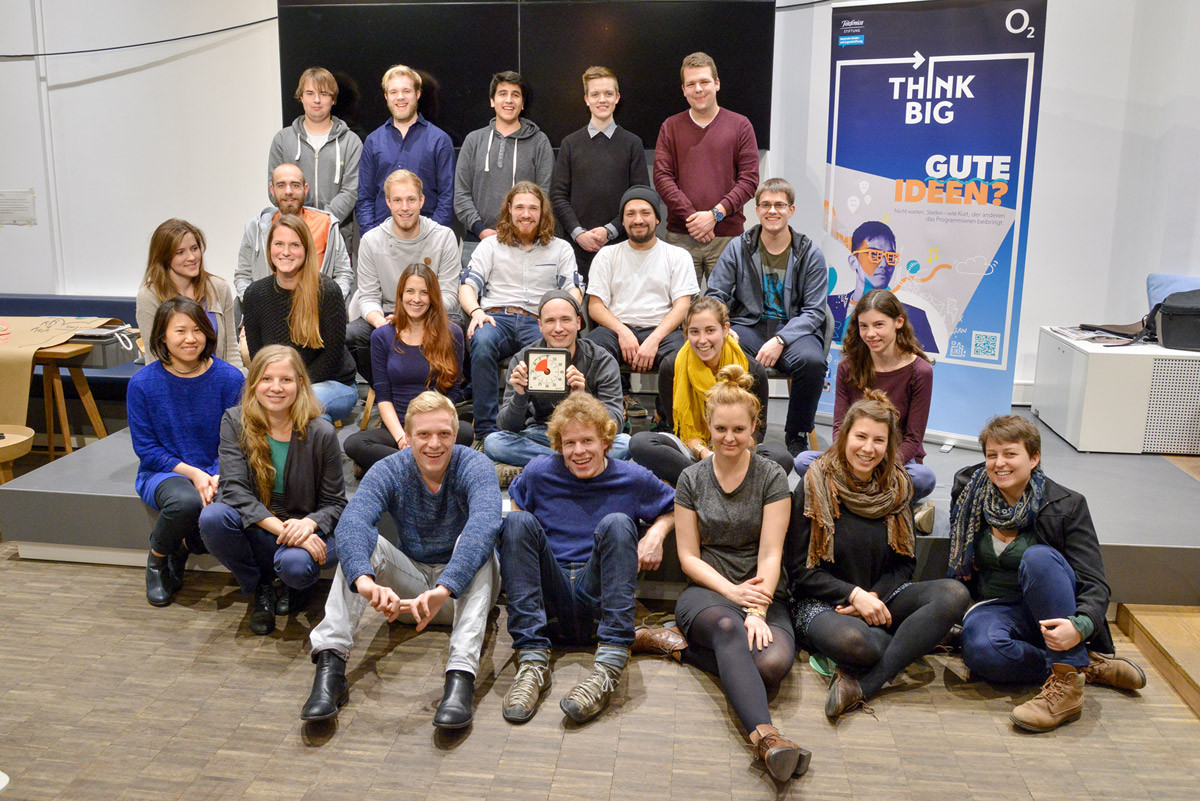 Gruppenfoto!!! Danke o2 Think Big!