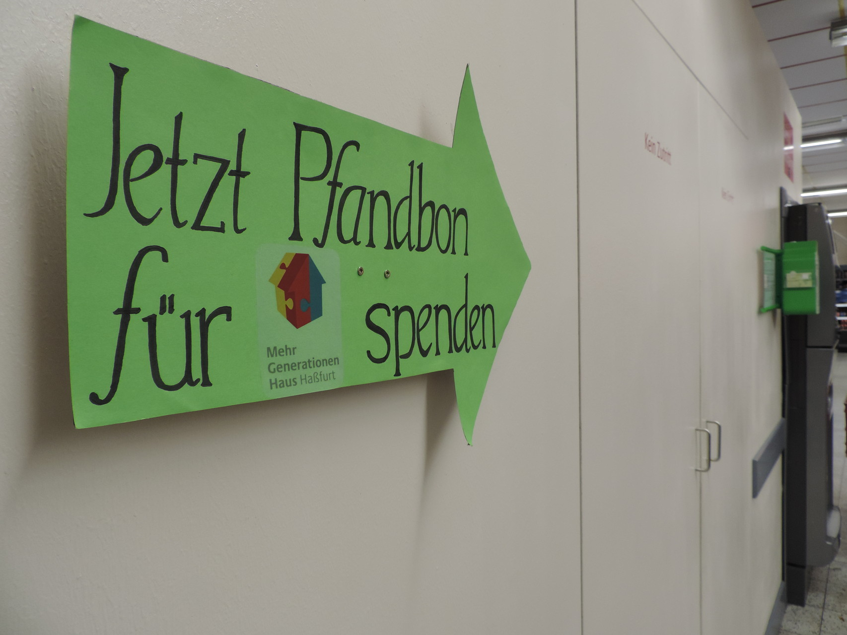 Genau, unterstützt unseren Kooperationspartner - das MGH Haßfurt! :)