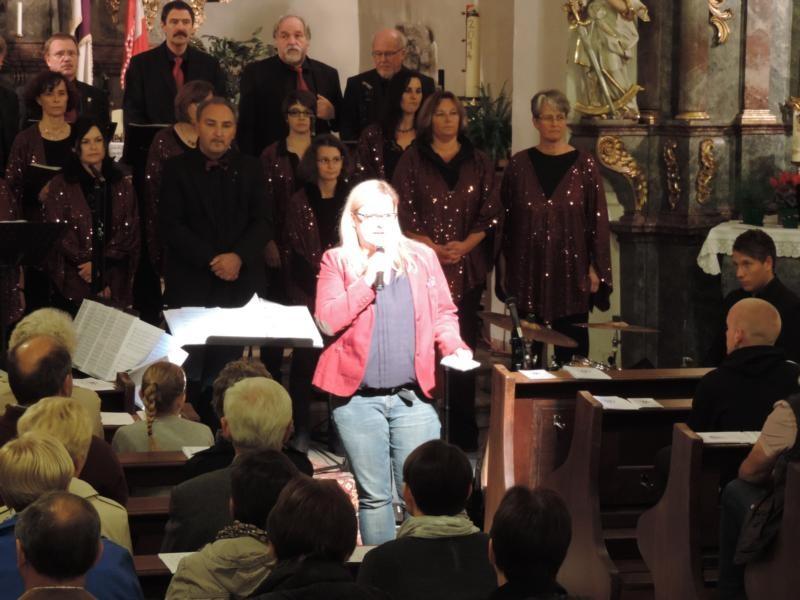 Und auch Isabell Kuhn, die Schirmherrin des Abends, hielt eine kurze Ansprache