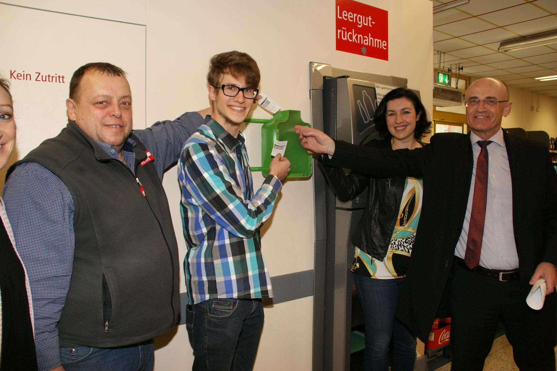 Die ersten 20 € Pfand hat Jürgen Mück selbst gespendet - vielen Dank! :)