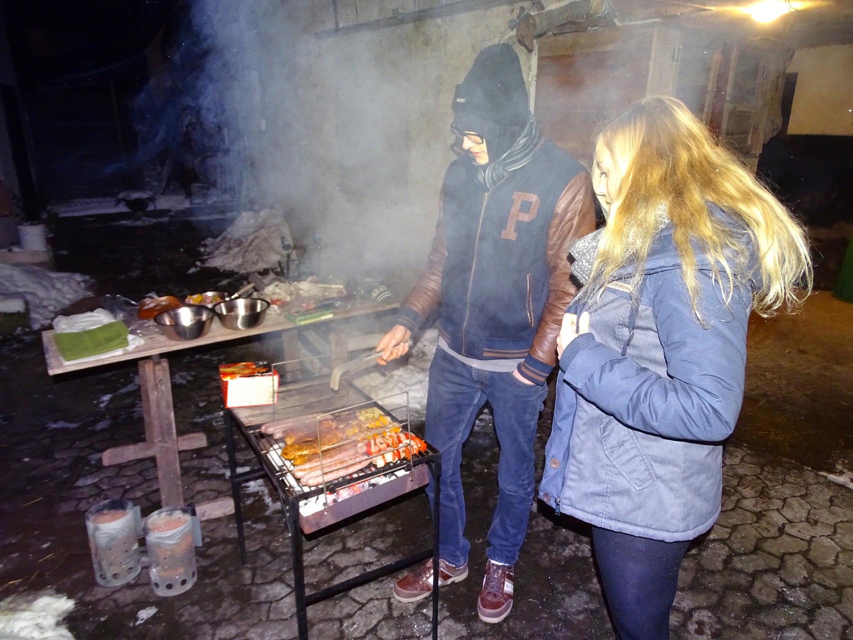 Wer grillt schon im Winter? ;)
