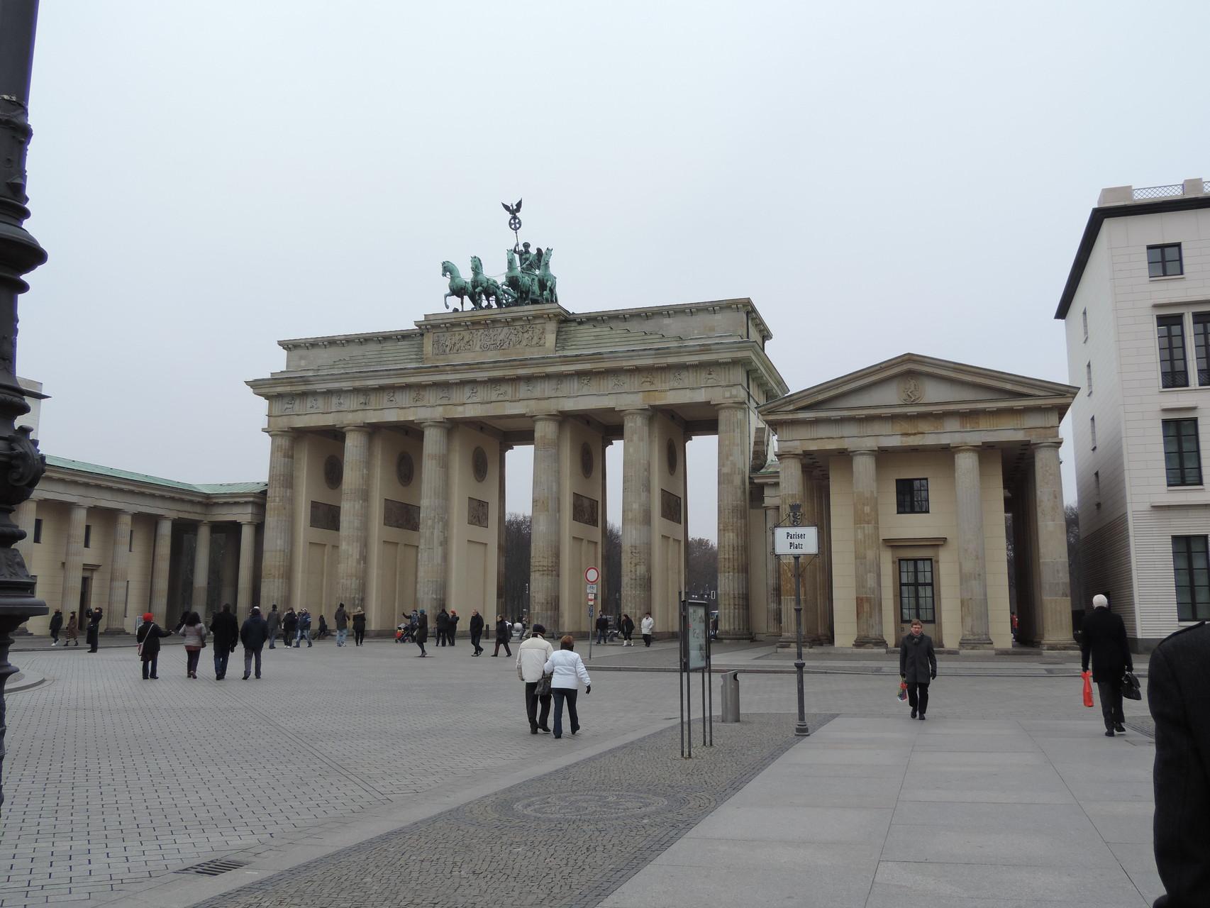 Das gemeinsame Mittagessen aller Nominierten mit dem Moderator des Abends fand direkt neben dem Brandenburger Tor statt :)