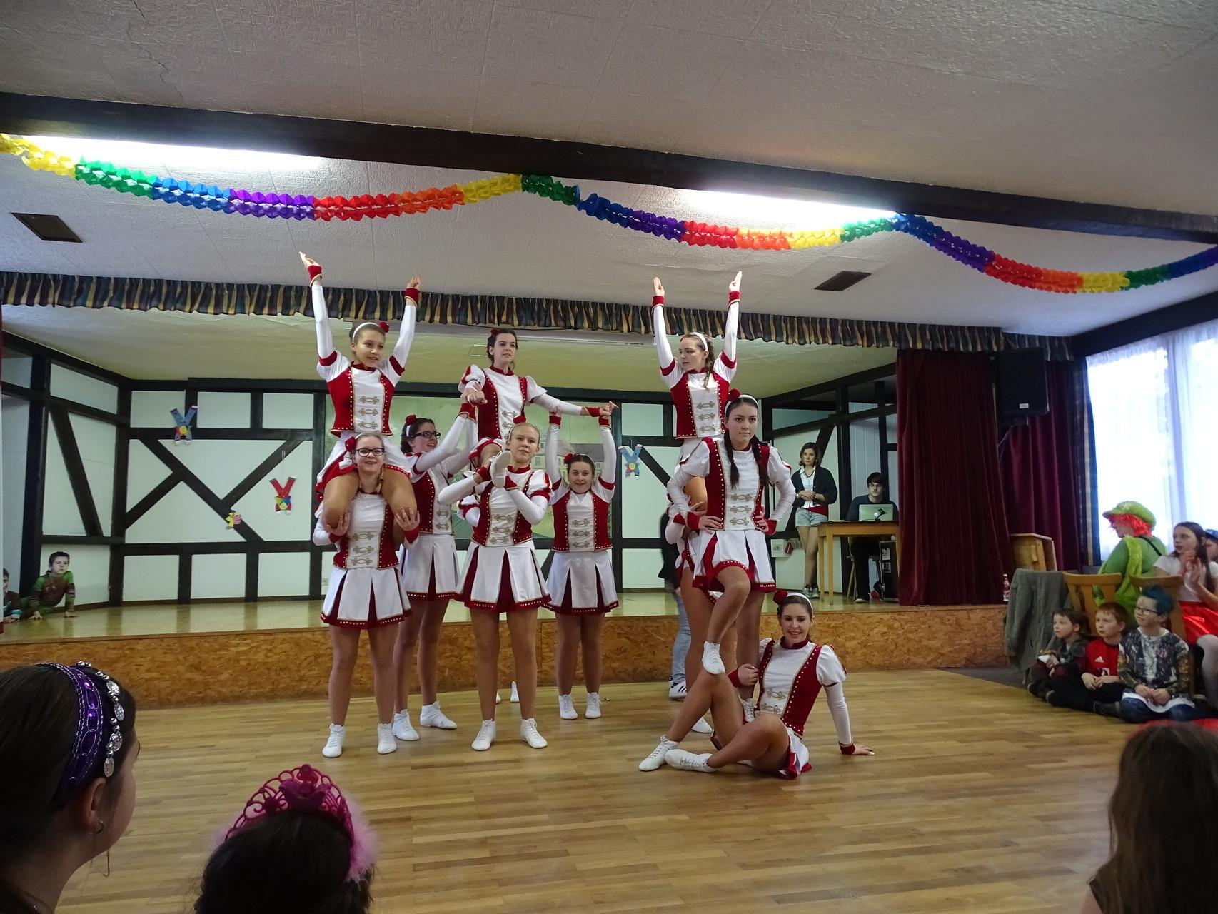 Dieses Jahr ganz neu mit dabei gewesen: die Jugendgarde Heubach-Ebern! Schön, dass ihr da wart ;)