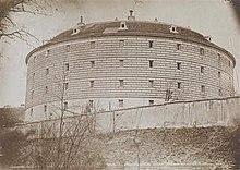 Fotografie des Narrenturm um 1895