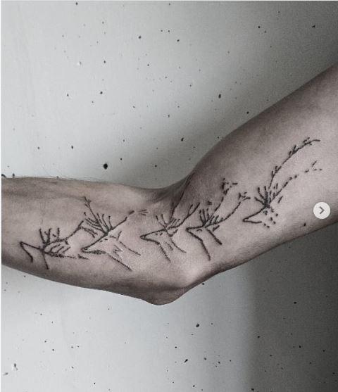 Schwimmende Hirsche aus Lascaux (Bildrechte: rhoda.tattoo)