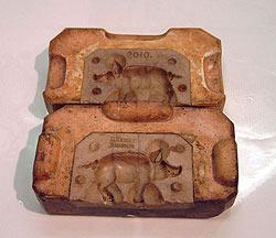 Holzmodel für Kekse*