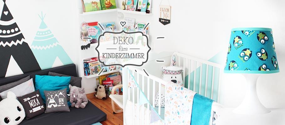 Deko fürs Kinderzimmer - nähfein