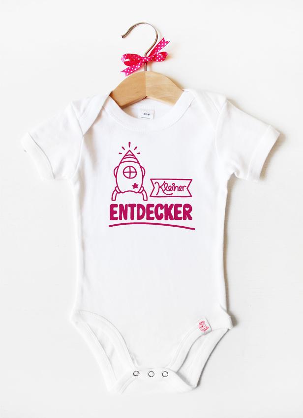 """""""Kleiner Entdecker"""" - pink"""