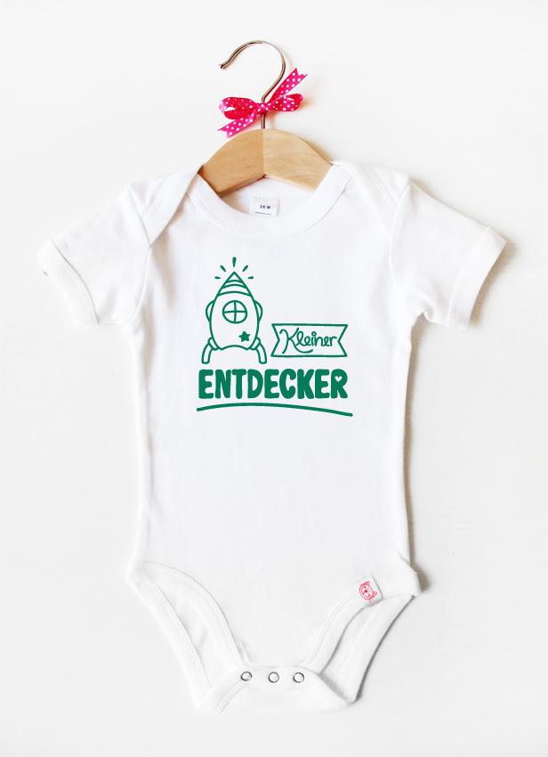"""Kleiner Entdecker"" - dunkelgrün"