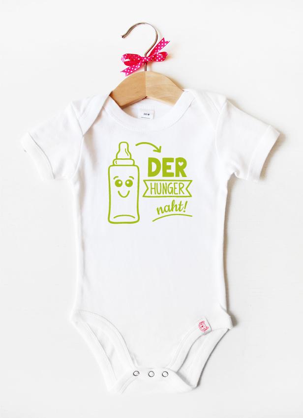 """""""Der Hunger naht"""" - grün"""