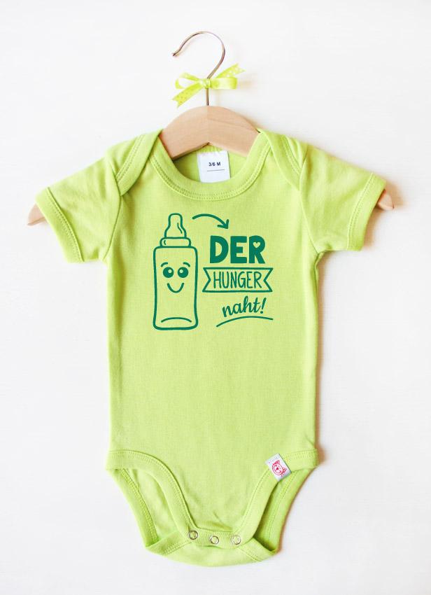 """""""Der Hunger naht"""" - dunkelgrün"""