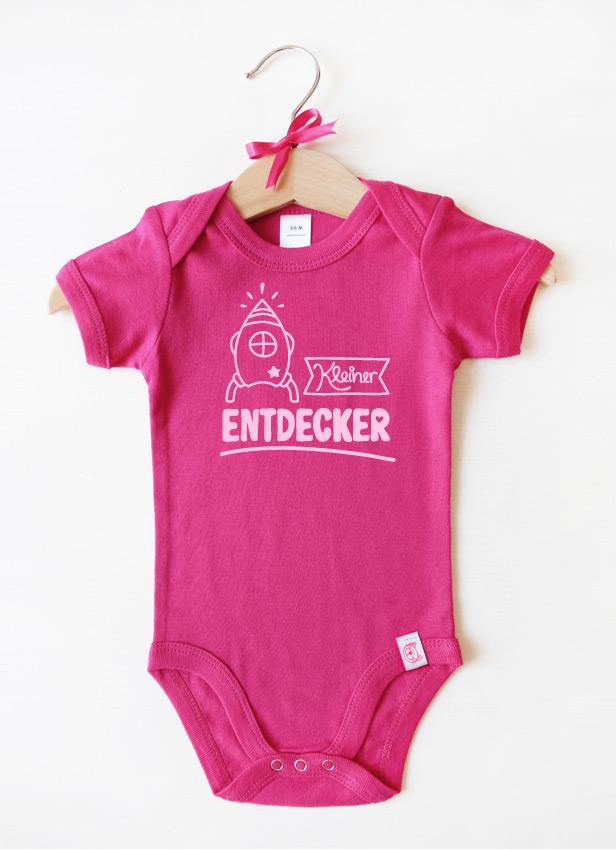 """""""Kleiner Entdecker"""" - rosa"""