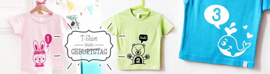 kreative Geburtstagsshirt für Kinder - nähfein