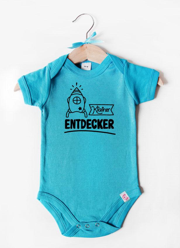 """""""Kleiner Entdecker"""" - schwarz"""