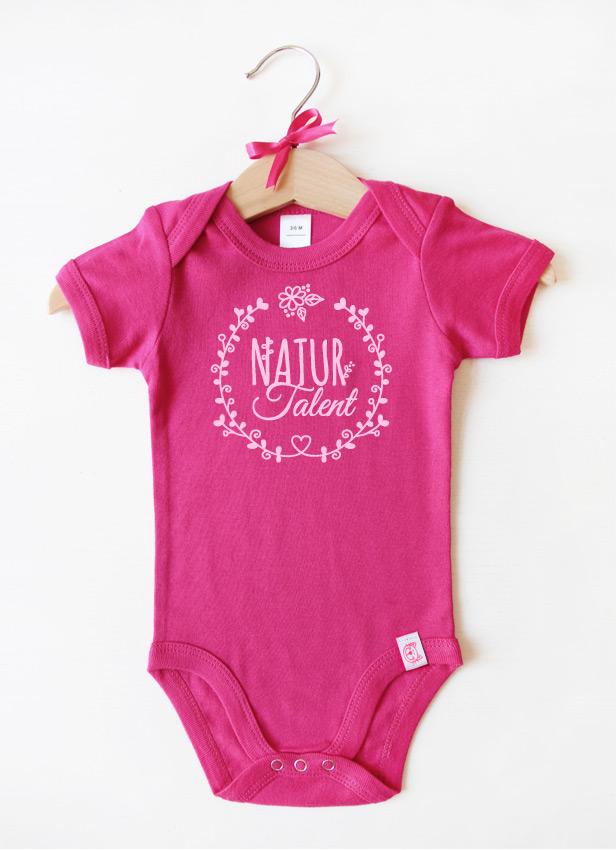 """""""Naturtalent"""" - rosa"""
