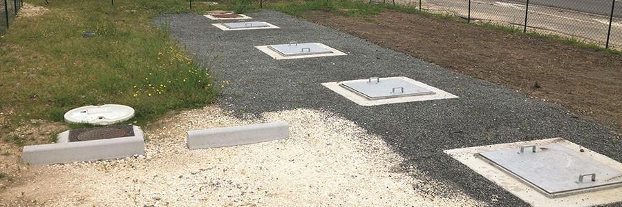 Système d'assainissement collectif par micro-station d'épuration SIMBIOSE® 100EH