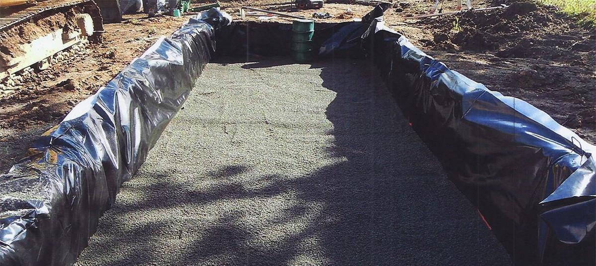 Filière d'assainissement individuel ENVIROSEPTIC - sable assainissement 30 cm