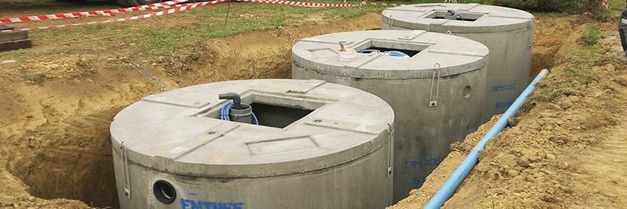 Système d'assainissement semi collectif : micro station d'épuration SIMBIOSE® 50EH