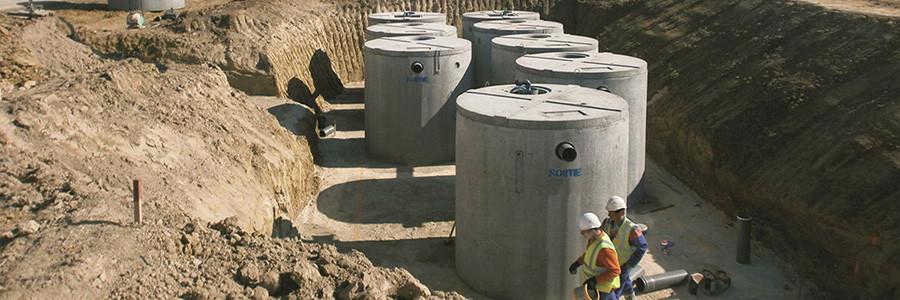 Système d'assainissement collectif par micro-station d'épuration SIMBIOSE® 250EH