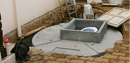 Installation SIMBIOSE® sous dallage
