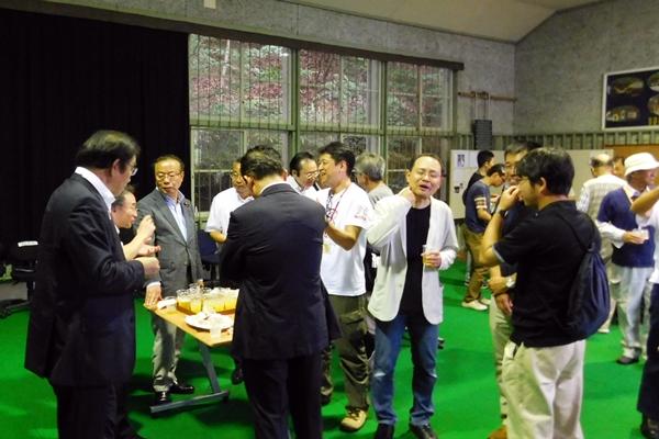 栃本先生とオオサンショウウオが大好きな人たちなので、共通の話で盛り上がりました。