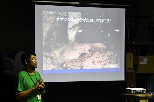 岡田理事長による講義
