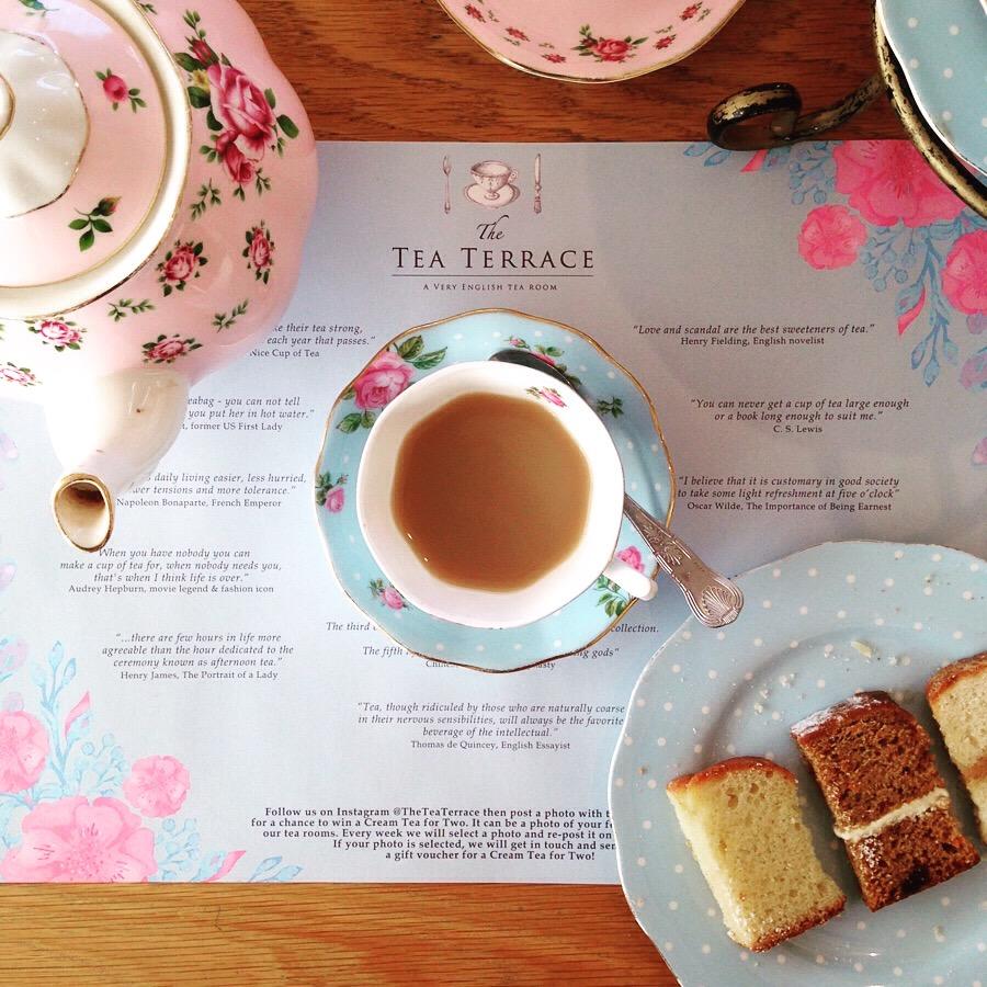 Guildford Tea Rooms Menu