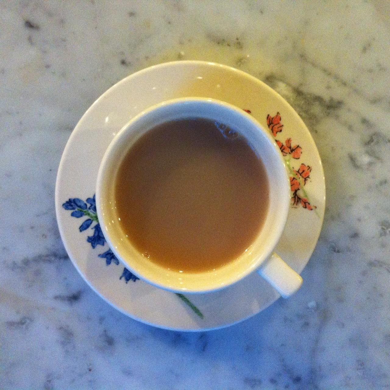 Suki tea in lovely Liberty teacups