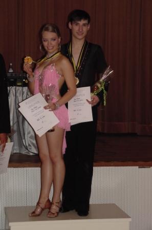 Max Förster + Angie Luise Jordan  Std HGR B und Lat HGR A