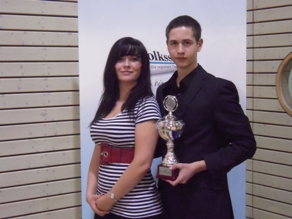 Pierre Pachulla / Catharina Plettau - Sportler des Jahres 2010 in der Kategorie Nachwuchsmannschaft