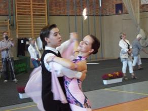 Vizelandesmeister Junioren II C Max Minge, Patricia Flügge
