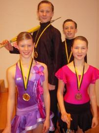 Landesmeister Heisinger, Hollax, Bronze Hoffmann-Ackmann, Koch