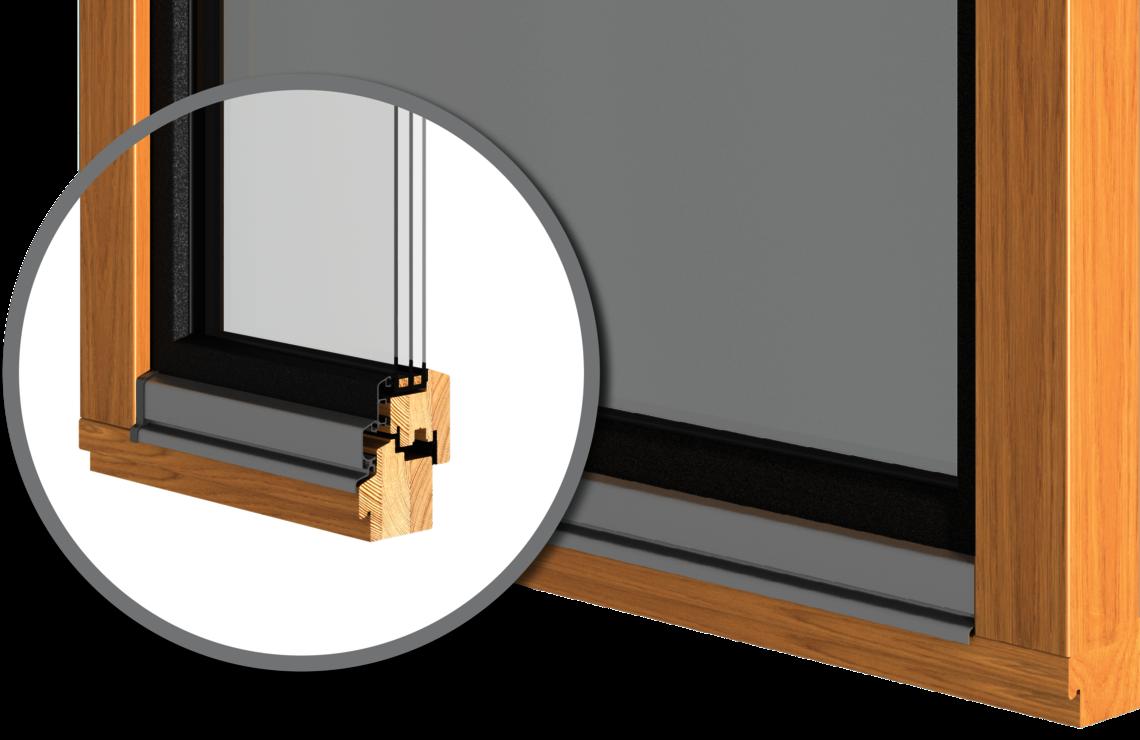 HOLZ PROTECT: Das innovative Holz-Fenster mit Alu-Flügelschale