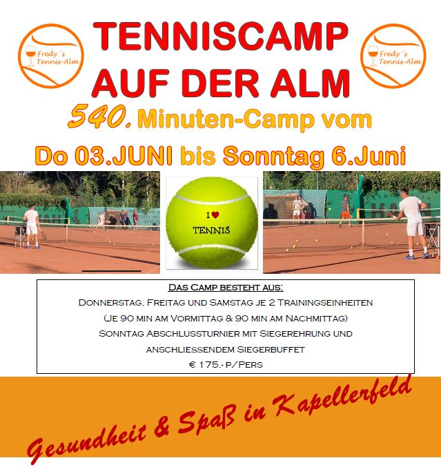 Tennis Camp Intensiv