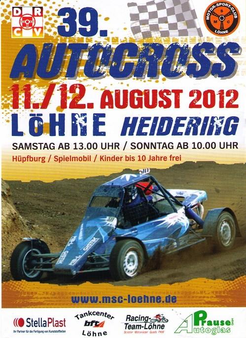 39. Autocross Löhne