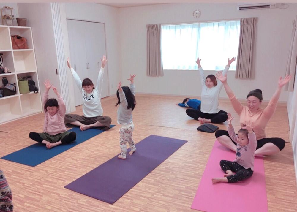 親子yoga