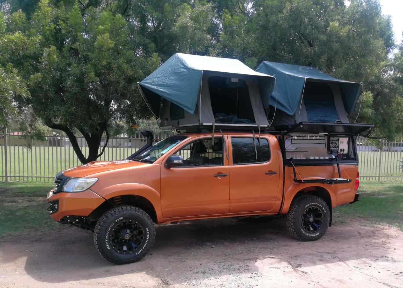 4x4 Safari Camper