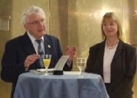 Egon Dürfeldt im Landtag in NRW