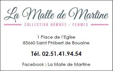 LA MALLE DE MARTINE