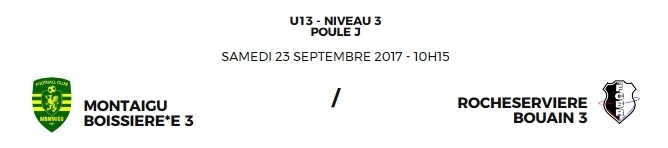 Match à La Boissière de Montaigu